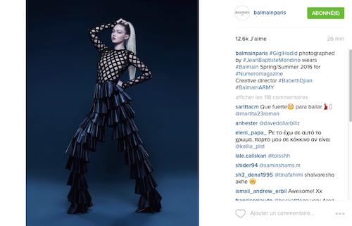 Photos : Gigi Hadid puissante en Une de Numéro France !