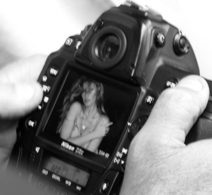 Cliché de l'appareil photo utilisé pour le shooting de Gisèle Bundchen !