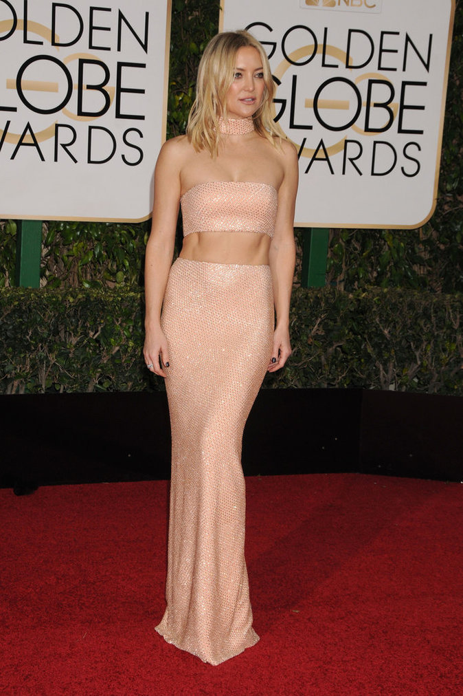 Kate Hudson en Michael Kors Collection