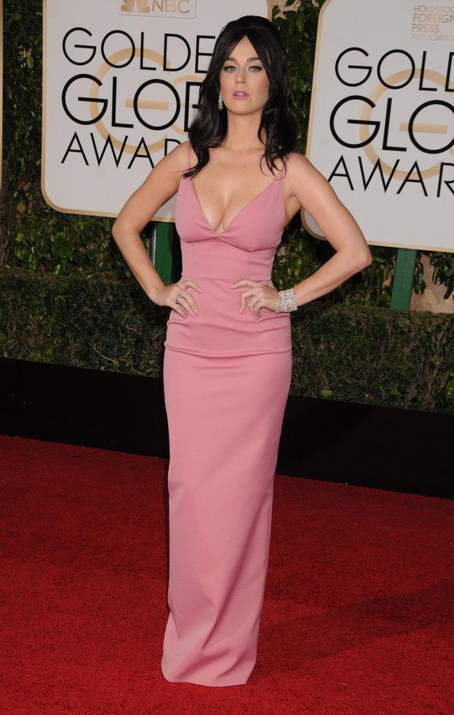 Katy Perry dans une robe Prada