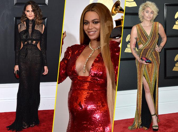 Grammy Awards 2017 : Chrissy Teigen, Beyoncé, Paris Jackson... Découvrez les plus beaux looks de la cérémonie !