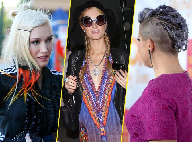 Photos : Gwen Stefani, Paris Hilton, Kelly Osbourne... découvrez les pires coiffures de la semaine !
