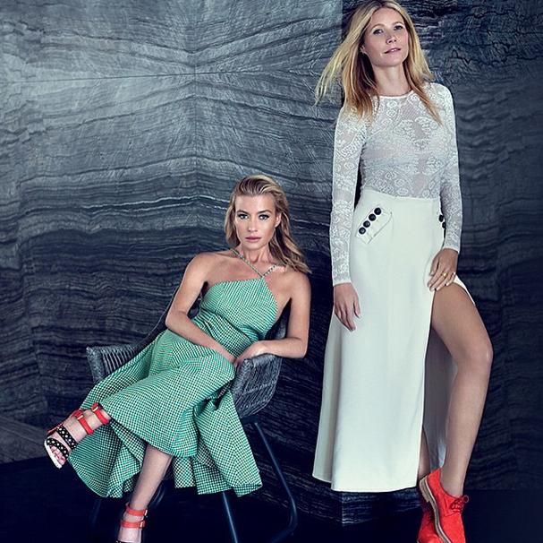 Gwyneth Paltrow et Tracy Anderson
