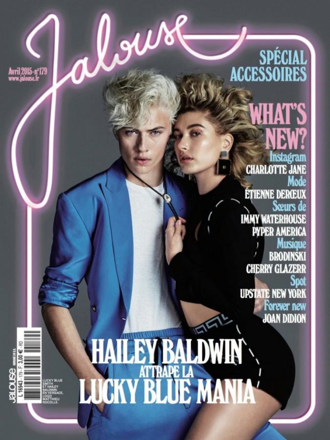 Photos : Hailey Baldwin, en amoureuse d'un jour pour le shooting ultra sensuel de Jalouse mag' !