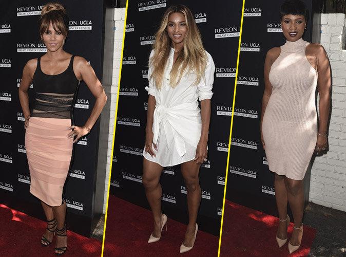 Photos : Halle Berry, Ciara, Jennifer Hudson... Pluies de stars (et de bombes) chez Revlon !