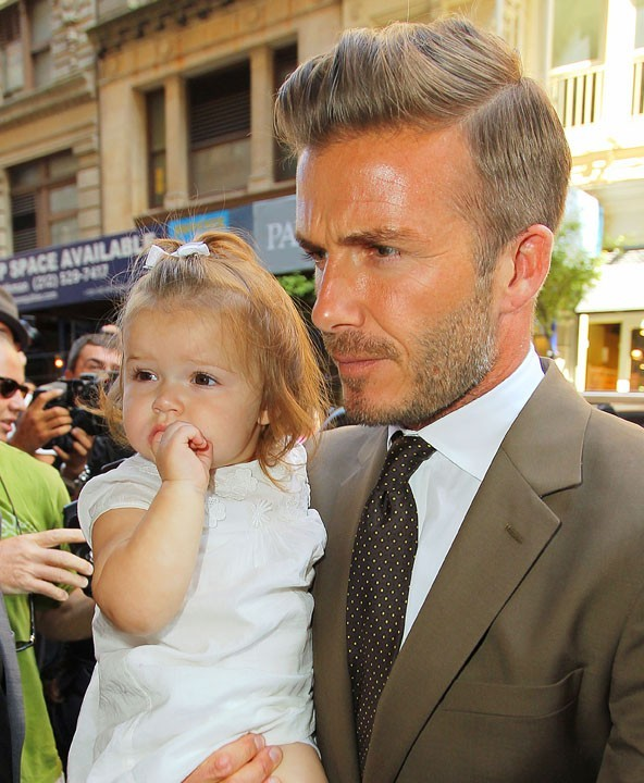 Harper Beckham : Maman est styliste, papa est stylé !