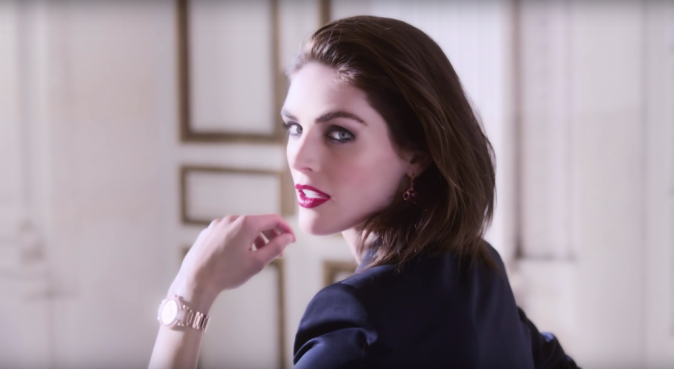 Photos : Hilary Rhoda : Chopard craque pour le top US !