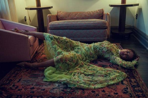 Irina Shayk pour Vogue Turquie
