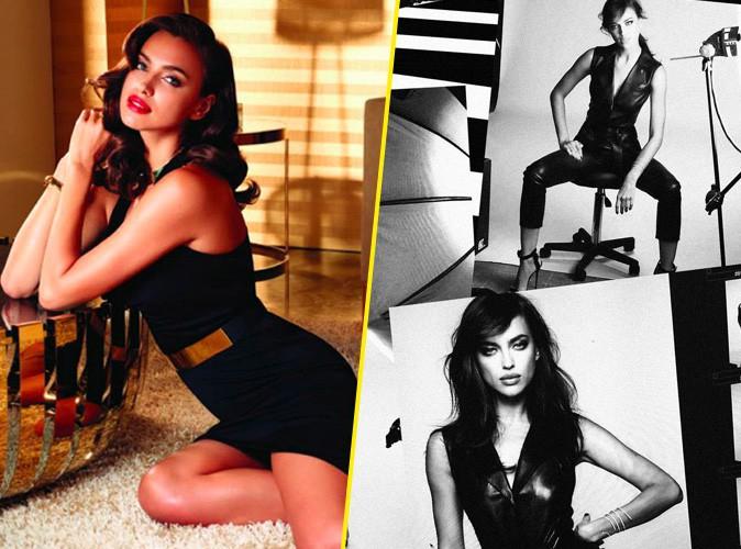 Irina Shayk pour Avon et l'Oréal Paris