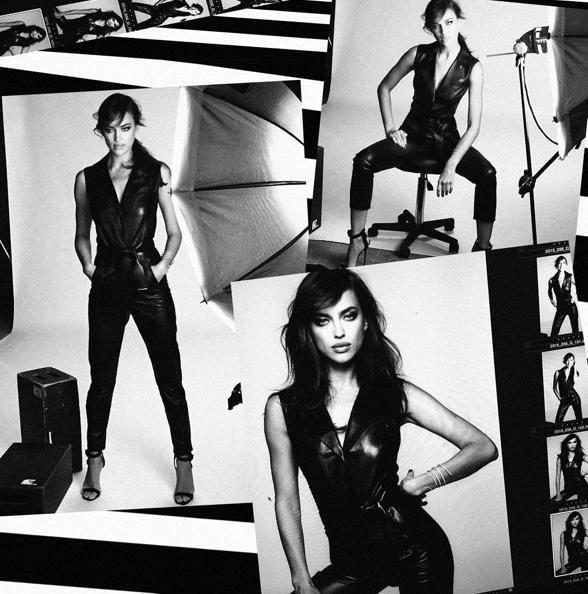 Irina Shayk pour l'Oréal Paris