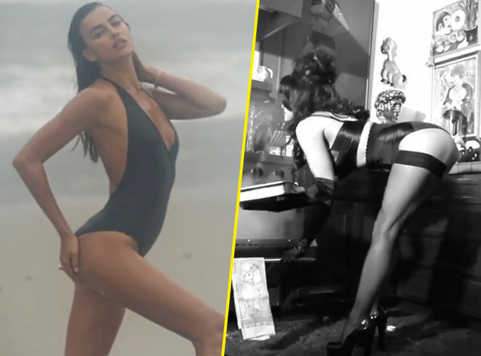 Photos : Irina Shayk et Pamela Anderson : beautés torrides pour LOVE Magazine !