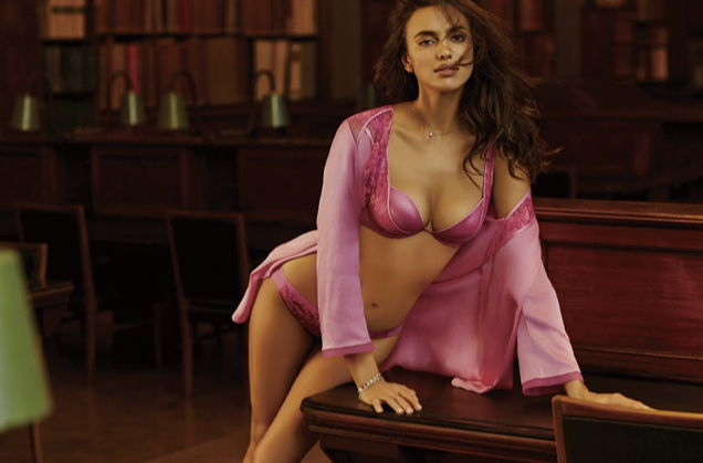 Irina Shayk pour La Closer, collection automne-hiver 2015