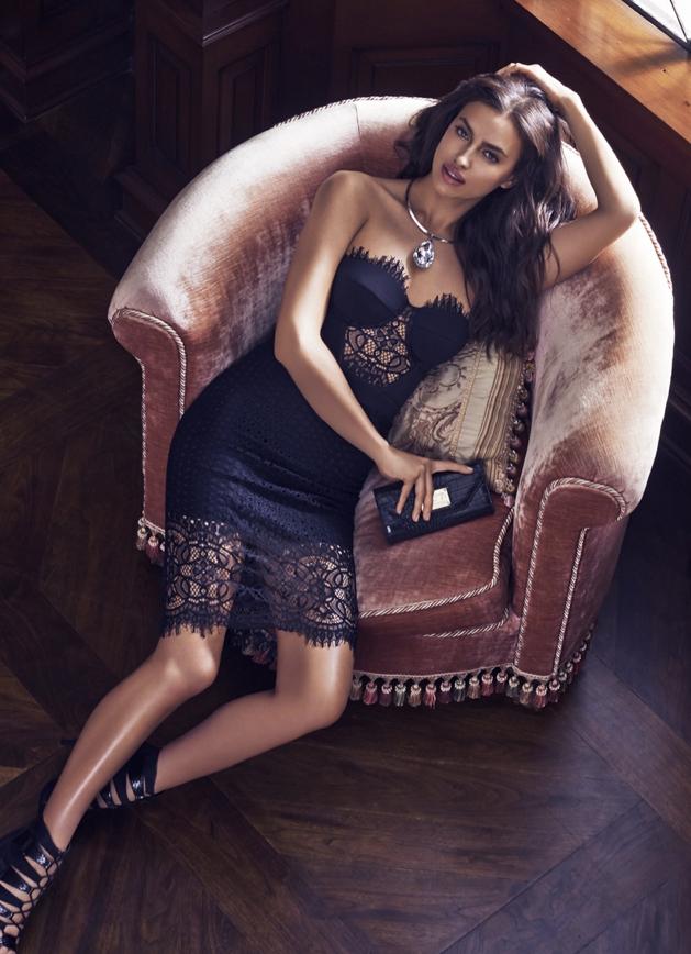Irina Shayk pour Bebe