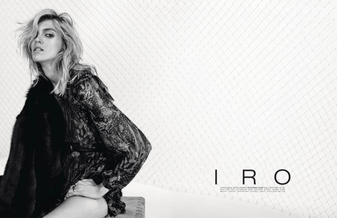 Anja Rubik pour Iro