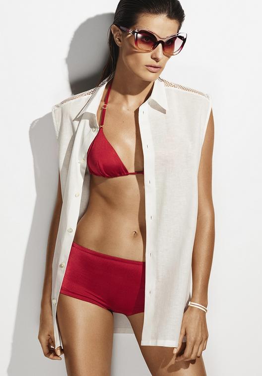 Isabeli Fontana et son bikini