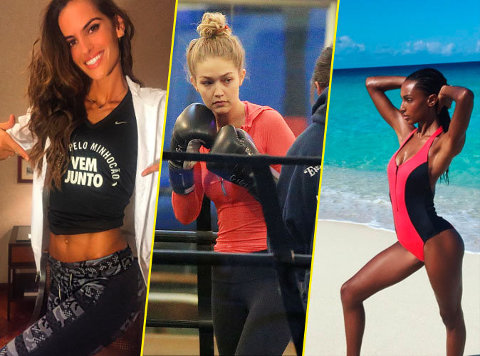 Izabel Goulart, Gigi Hadid, Jasmine Tookes... Les Anges au sport avant le grand show Victoria's Secret !
