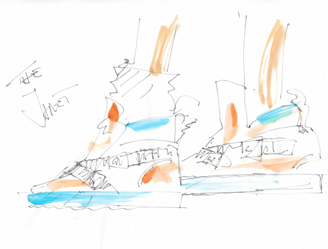 Les premiers dessins du créateur pour la chanteuse !