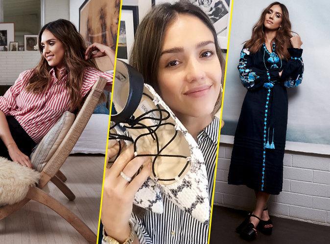 Offrez-vous la garde-robe de Jessica Alba pour la bonne cause !