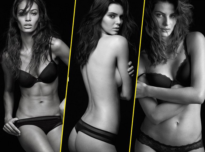 Photos : Joan, Kendall, Isabeli : la sensualité leur va bien dans la dernière campagne Calvin Klein !