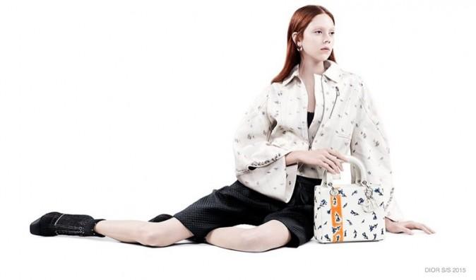Photos : Julia Nobis et Natalie Westling : romantiques et délicates pour la nouvelle campagne Dior !