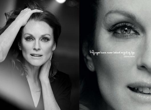 Julianne Moore pour L'Oréal Paris