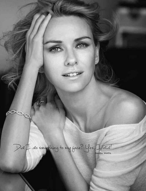 Naomie Watts pour L'Oréal Paris