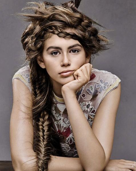 Kaia Gerber pour Teen Vogue