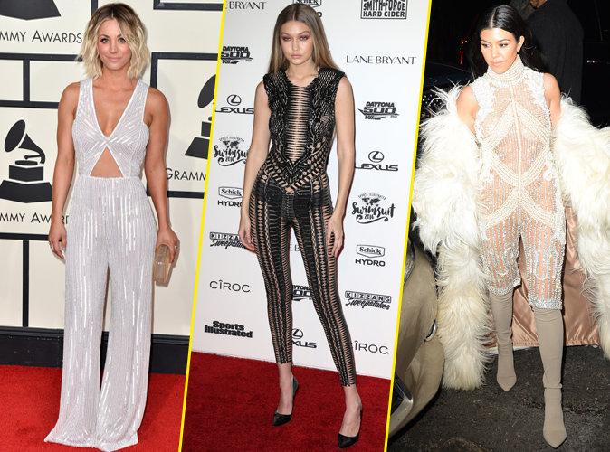Photos : Kaley Cuoco, Gigi Hadid, Kourtney Kardashian... Elles sont toutes folles des combinaisons !