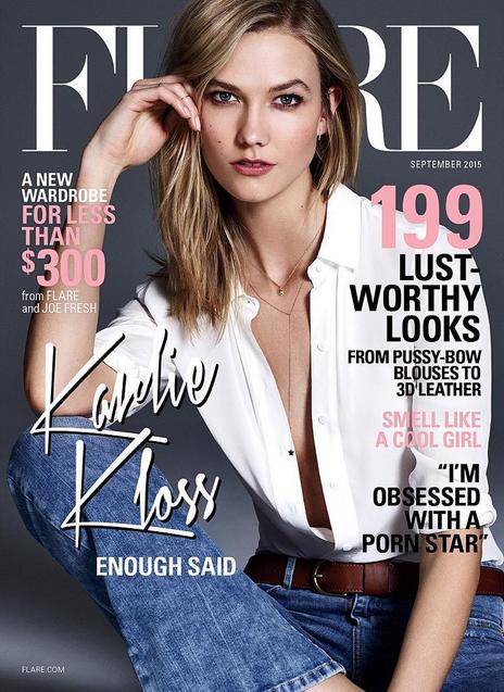 Le top US pour Flare magazine