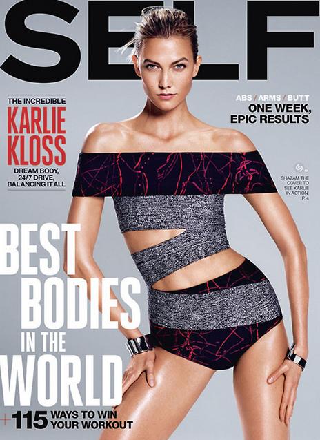 Karlie Kloss pour Self Magazine