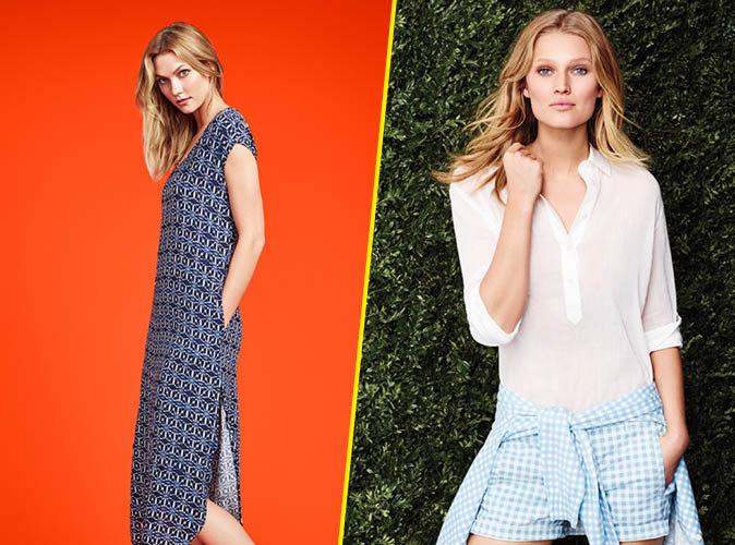 Karlie Kloss et Toni Garrn pour la nouvelle campagne Joe Fresh