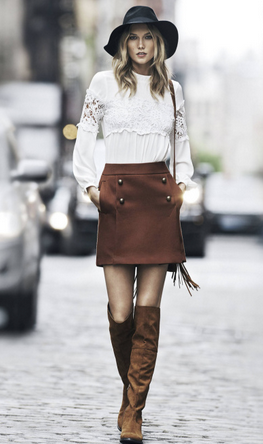 Photos : Karlie Kloss : poupée seventies pour sa nouvelle campagne Express !