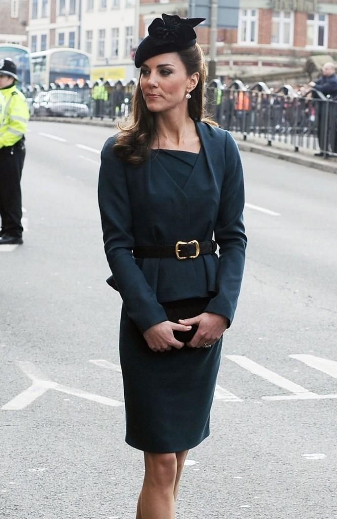 Kate Middleton à Oxford en février 2012 !