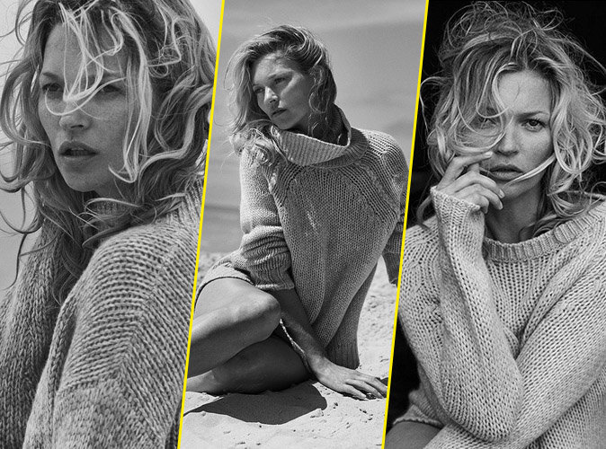 Kate Moss pour Naked Cashmere