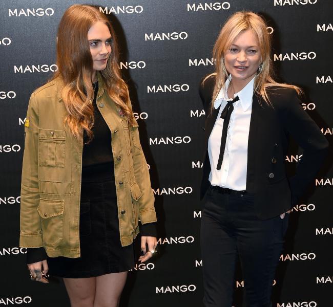 Photos : Kate Moss & Cara Delevingne : le nouveau des grandes marques ?