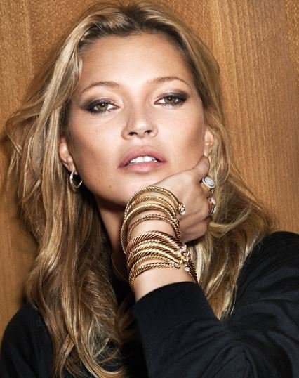Kate Moss pour David Yurman