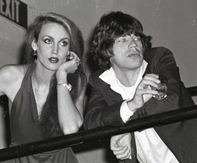 Jerry Hall et Mick Jagger