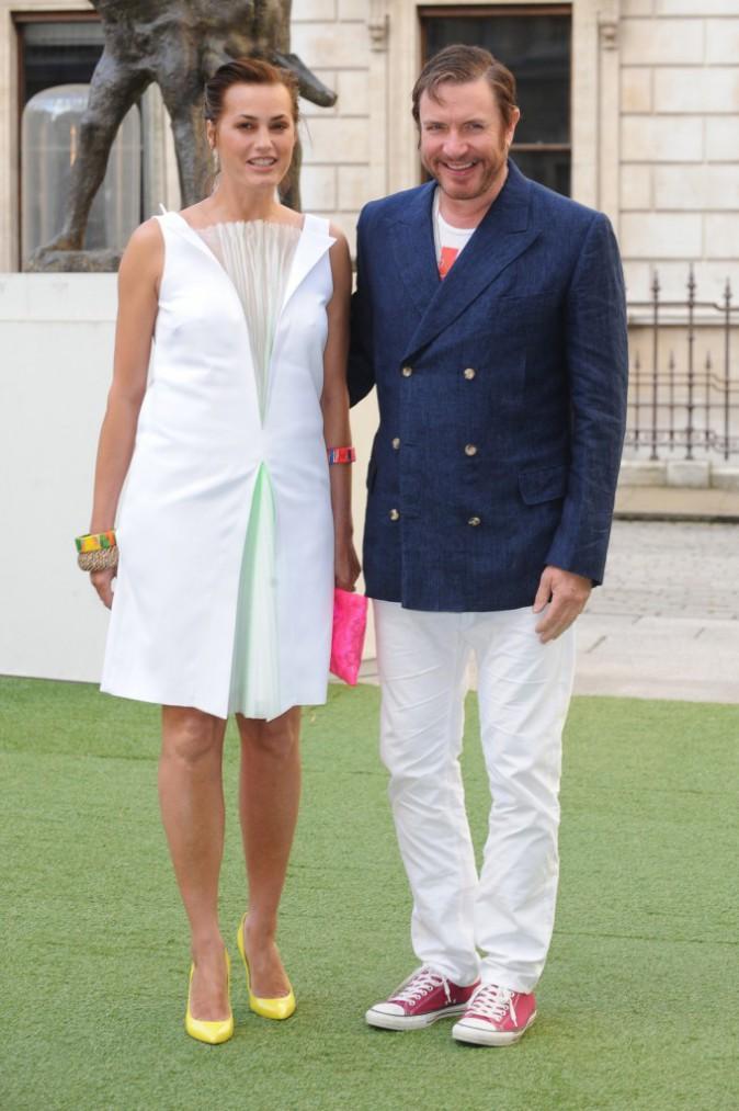 Yasmin Parvaneh et Simon Le Bon