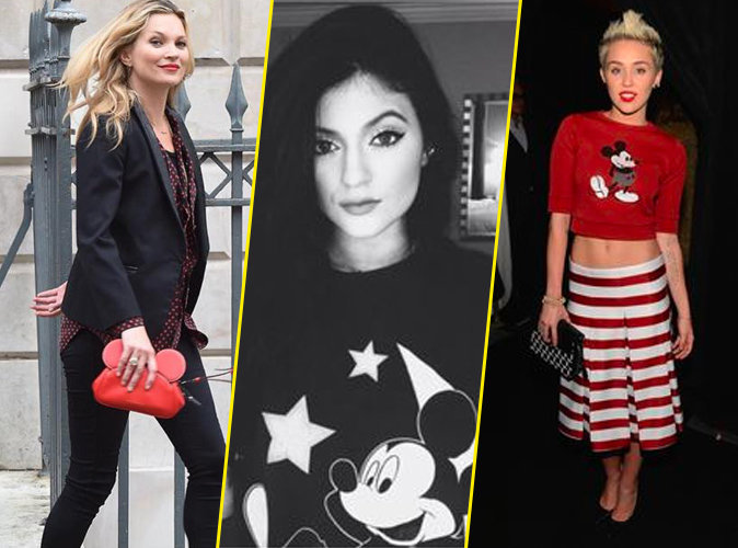Photos : Kate Moss, Kylie Jenner, Miley Cyrus : la mode Disney, elles adorent !