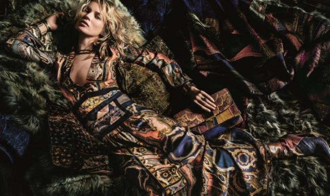 Kate Moss pour Etro