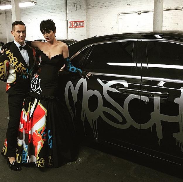 Katy Perry et Jeremy Scott au MET Gala 2015
