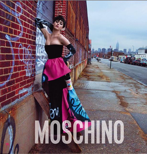 Katy Perry pour Moschino