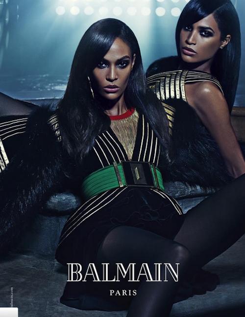 "Photos : Kendall et Kylie Jenner VS Joan et Erika Smalls : Balmain fait vibrer les ""sisters"" !"