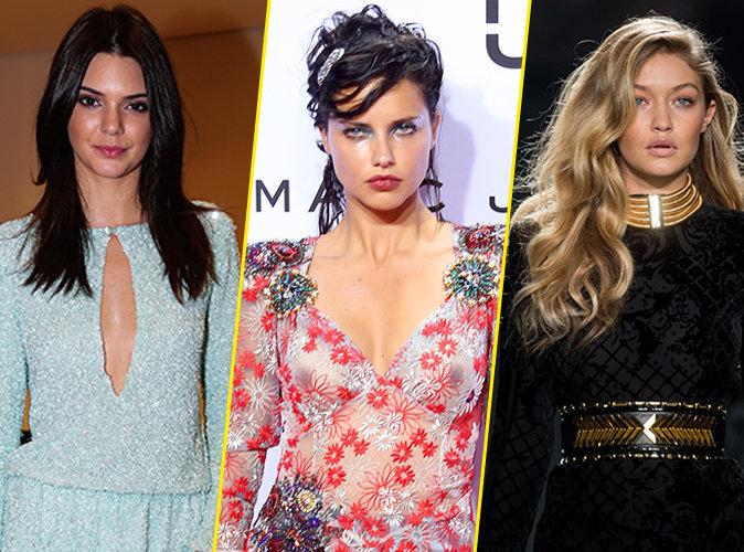 Photos : Adriana Lima, Gigi Hadid, Kendall Jenner... Toutes les bombes qui défileront pour le Victoria's Secret Fashion Show 2015 !