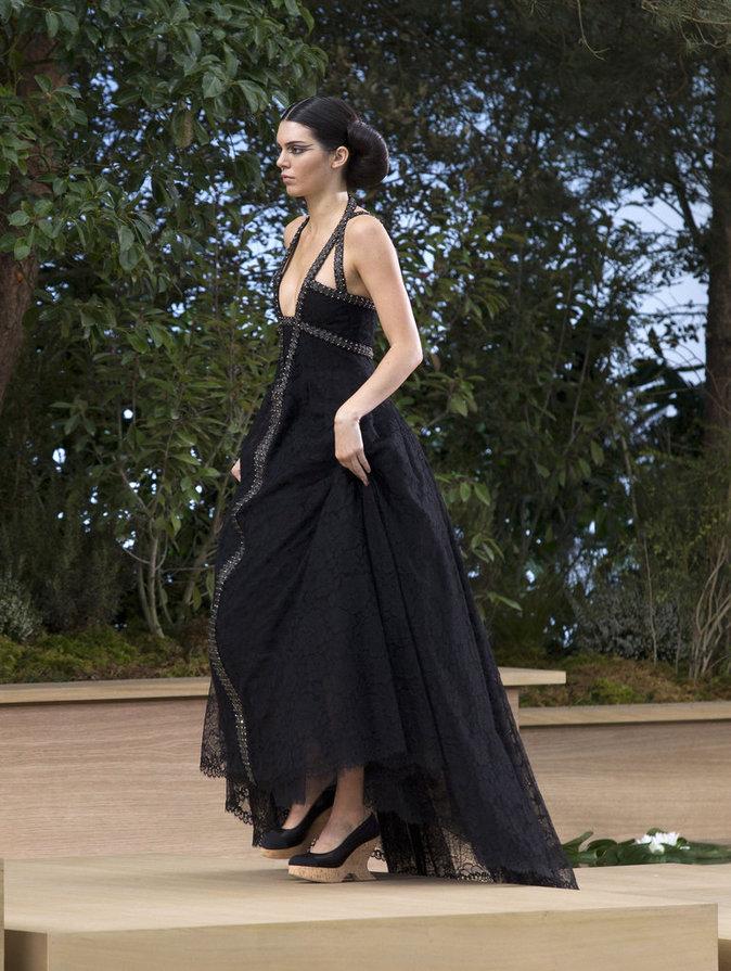 Kendall Jenner au défilé Chanel Haute Couture