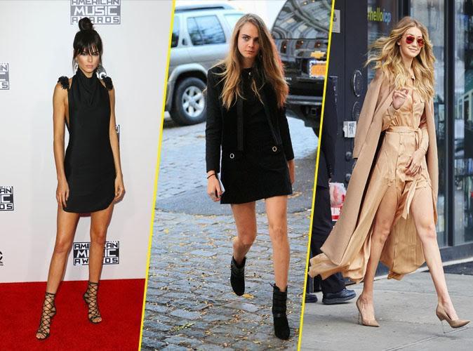 Photos : Kendall Jenner, Cara Delevingne, Gigi Hadid : mannequins les plus populaires de l'année !