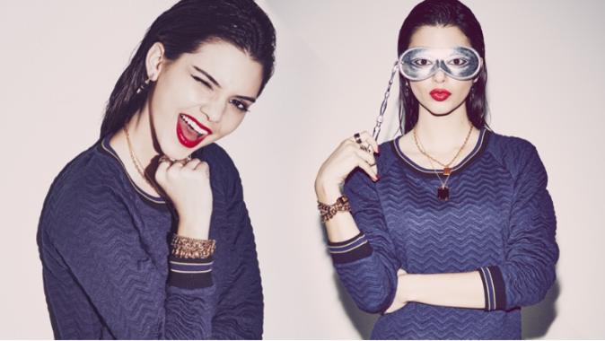 Kendall Jenner pour Penshoppe