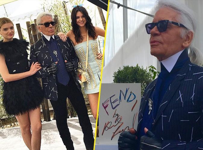 Photos : Kendall, Lily, Izabel... Toutes au lancement du prochain livre Fendi by Karl Lagerfeld !