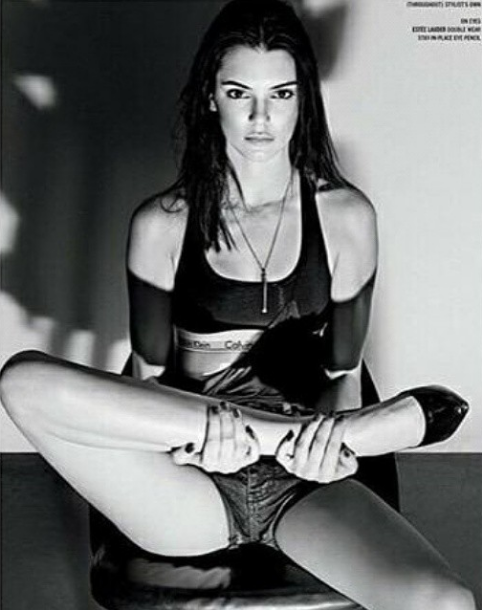 Photos : Kendall Jenner, nouveau shooting black and white pour le magazine V !