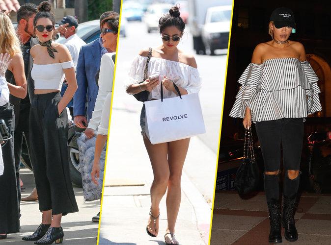 Photos : Kendall Jenner, Shay Mitchell, Rita Ora : Elles mettent leurs épaules à nu !